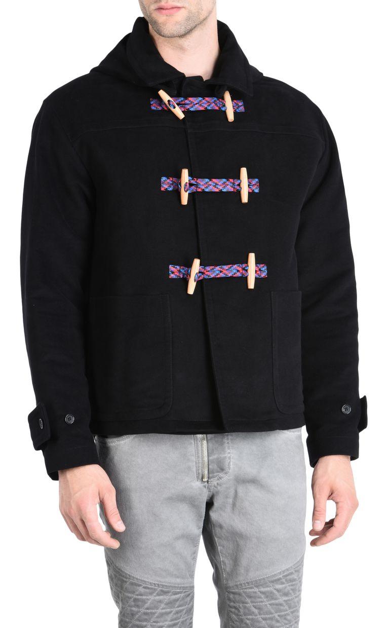 JUST CAVALLI Cropped duffle coat Jacket Man f