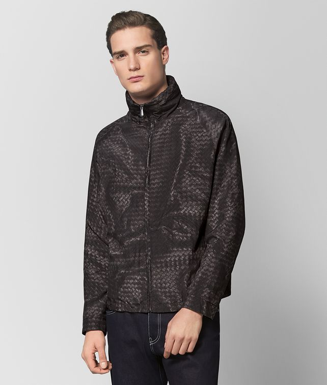 BOTTEGA VENETA DARK ARDOISE POLYESTER JACKET Outerwear and Jacket Man fp