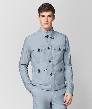 极地蓝棉质夹克