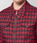 BOTTEGA VENETA NERO/CHINA RED NYLON JACKET Outerwear and Jacket Man ap