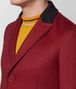 BOTTEGA VENETA DARK CHINA RED WOOL CASHMERE COAT Outerwear and Jacket Man ap