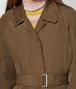 BOTTEGA VENETA CALVADOS POLYESTER TRENCH Outerwear and Jacket Woman ap