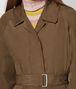 BOTTEGA VENETA TRENCH IN POLIESTERE CALVADOS Outerwear e giacca Donna ap