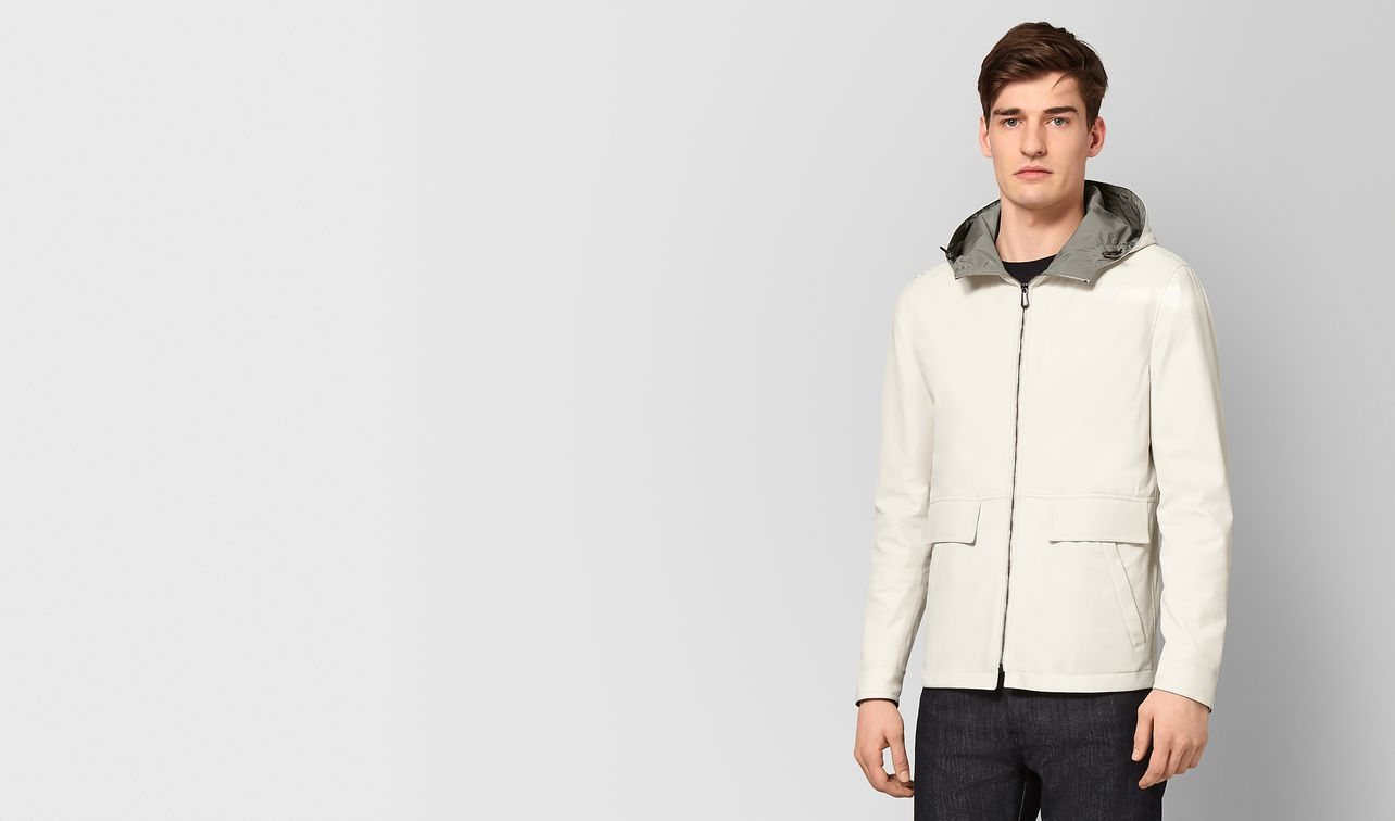 mist lamb/polyester jacket landing