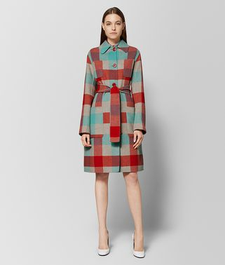 MULTICOLOR WOOL COAT