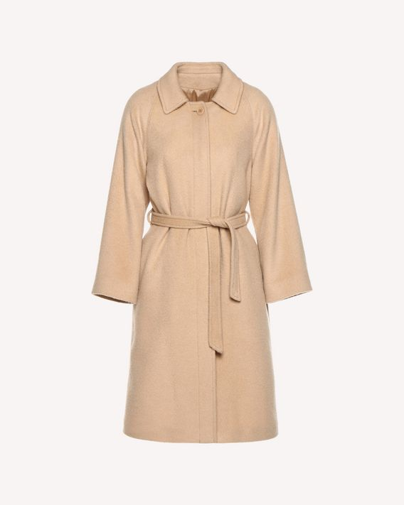 REDValentino Long mohair-blend coat