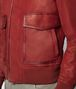 BOTTEGA VENETA DARK CHINA RED CALF JACKET Outerwear and Jacket Man ap