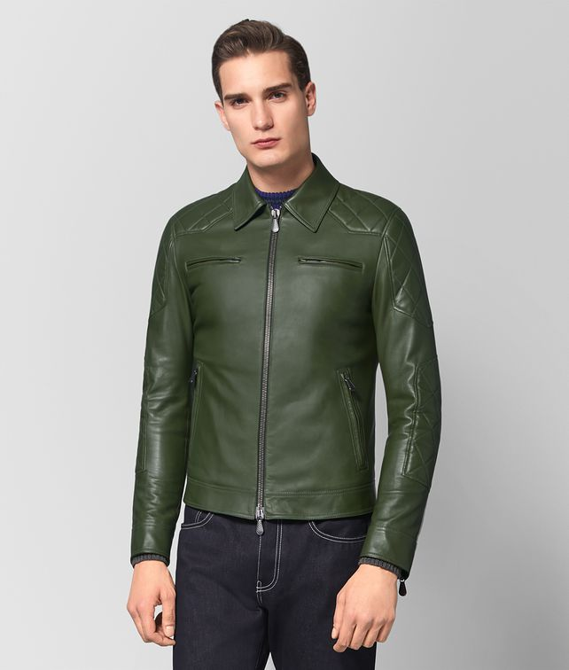BOTTEGA VENETA FOREST CALF JACKET Outerwear and Jacket [*** pickupInStoreShippingNotGuaranteed_info ***] fp