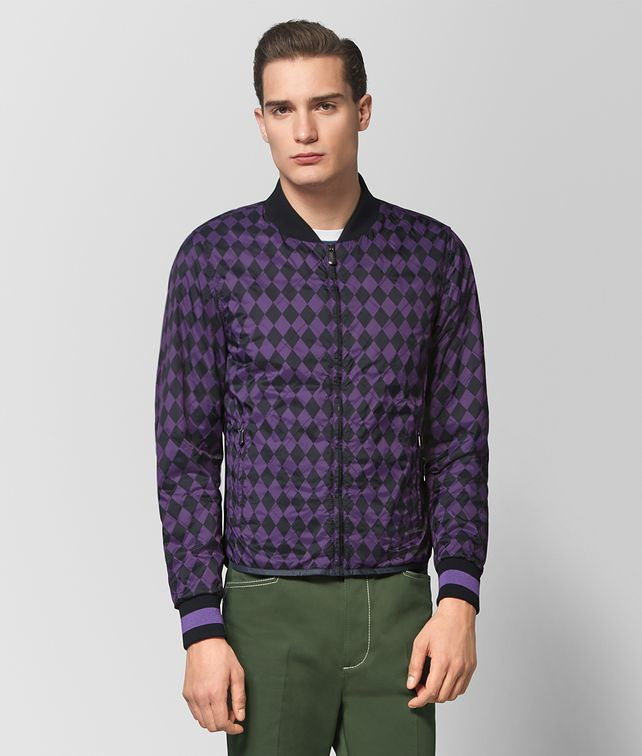 BOTTEGA VENETA DARK MOSS/MONALISA NYLON JACKET Outerwear and Jacket Man fp