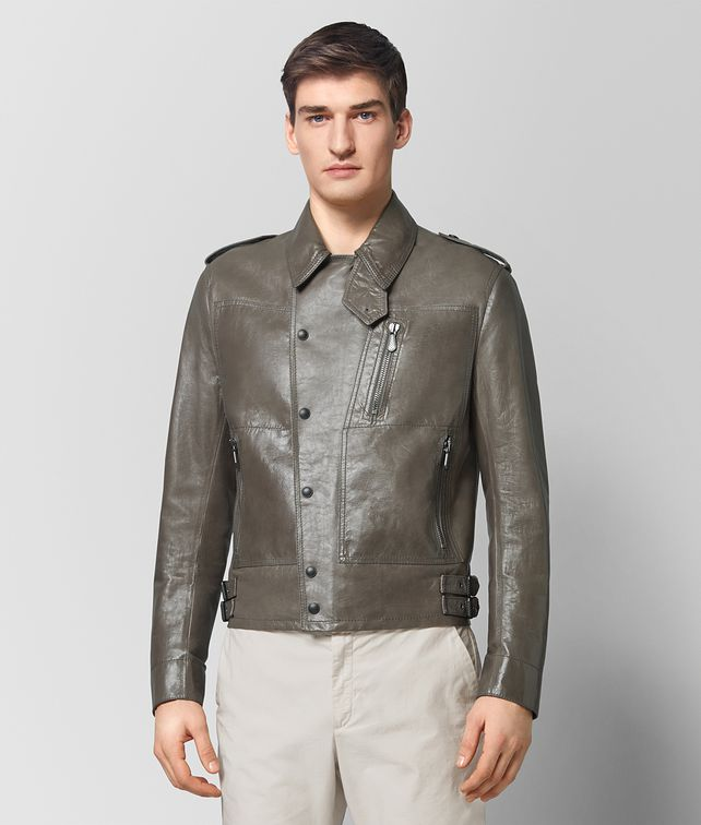 BOTTEGA VENETA STEEL CALF JACKET Outerwear and Jacket [*** pickupInStoreShippingNotGuaranteed_info ***] fp