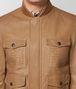 BOTTEGA VENETA CAMEL LAMB JACKET Outerwear and Jacket Man ep