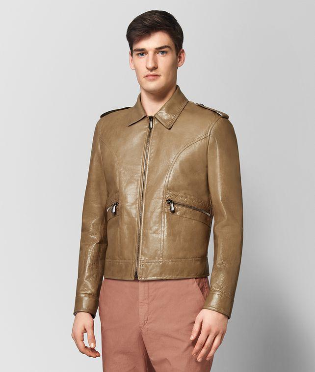 BOTTEGA VENETA CAMEL CALF JACKET Outerwear and Jacket [*** pickupInStoreShippingNotGuaranteed_info ***] fp
