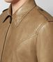 BOTTEGA VENETA CAMEL CALF JACKET Outerwear and Jacket Man ap