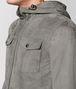 BOTTEGA VENETA DARK CEMENT SUEDE JACKET Outerwear and Jacket Man ap