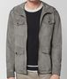 BOTTEGA VENETA DARK CEMENT SUEDE JACKET Outerwear and Jacket Man ep