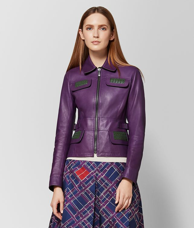 BOTTEGA VENETA MONALISA CALF JACKET Outerwear and Jacket Woman fp