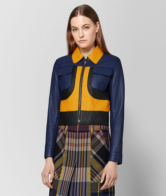 BOTTEGA VENETA MULTICOLOR CERVO JACKET Outerwear and Jacket Woman fp