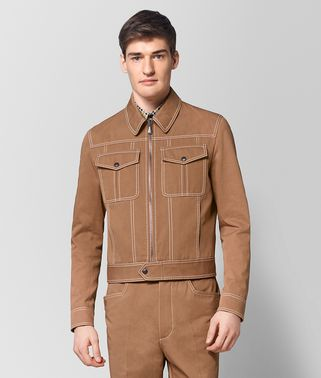 CAMEL COTTON JACKET