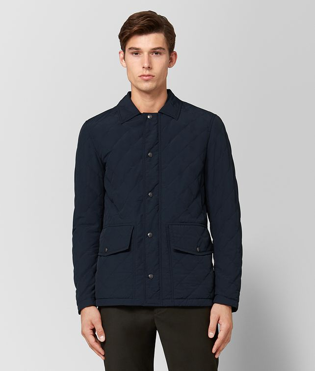 BOTTEGA VENETA DARK NAVY POLYESTER JACKET Outerwear and Jacket [*** pickupInStoreShippingNotGuaranteed_info ***] fp