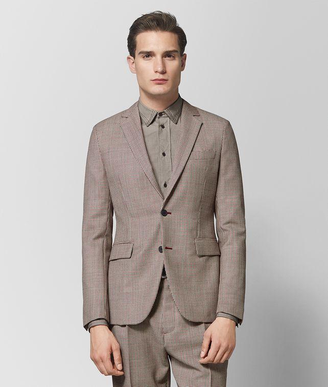BOTTEGA VENETA MULTICOLOR WOOL JACKET Outerwear and Jacket Man fp