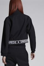 DSQUARED2 Wool Cady Tape Barracuda Sportsjacket Kaban 女士