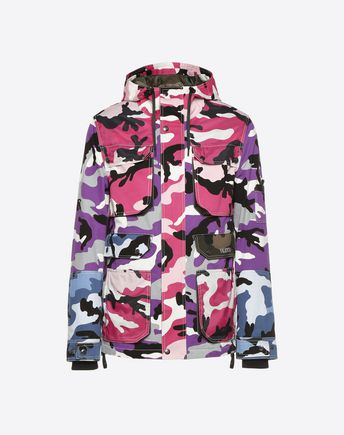 VALENTINO UOMO Down jacket U Reversible Camoushuffle down coat f
