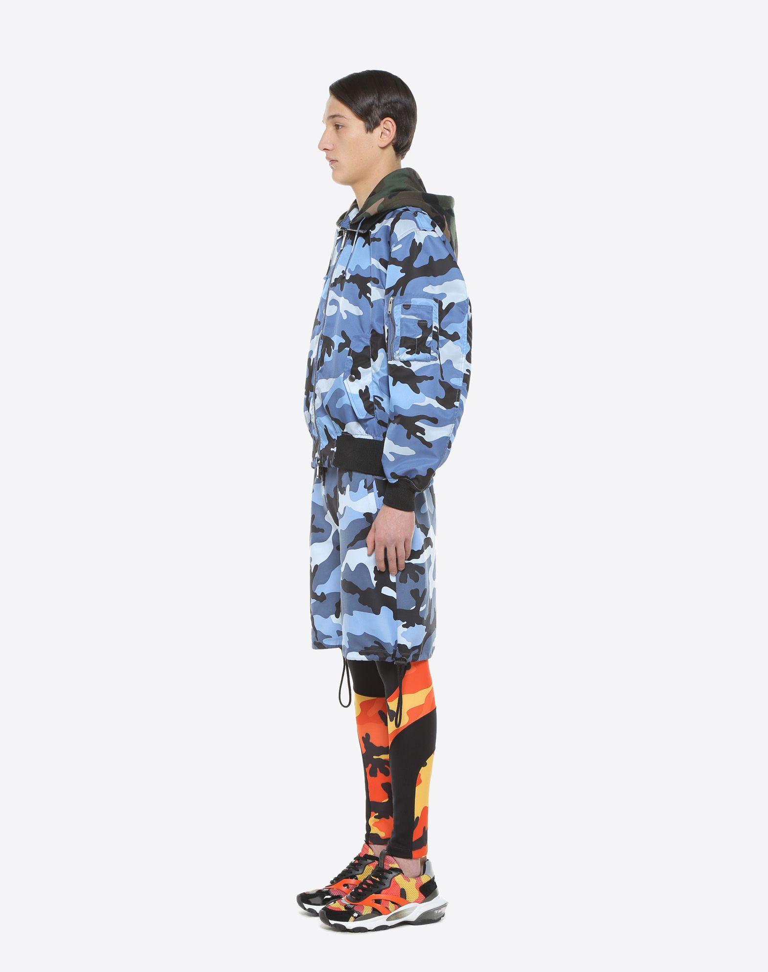 VALENTINO Camouflage bomber jacket  JACKET U d