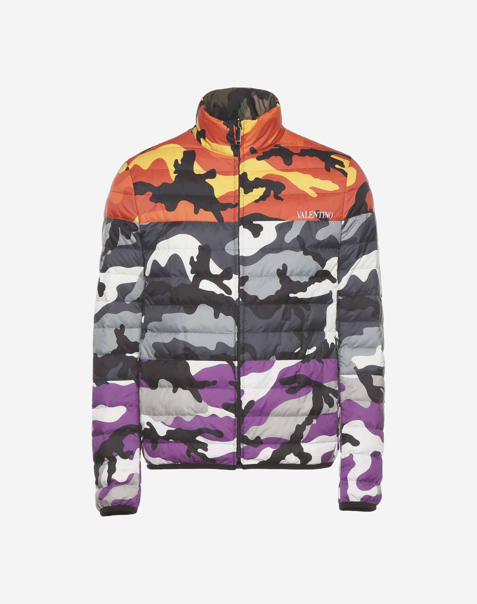VALENTINO Reversible Camoushuffle down coat Down jacket U f