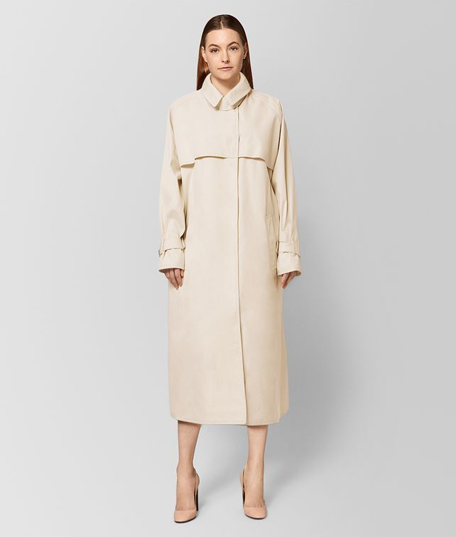 BOTTEGA VENETA MIST COTTON COAT  Outerwear and Jacket Woman fp