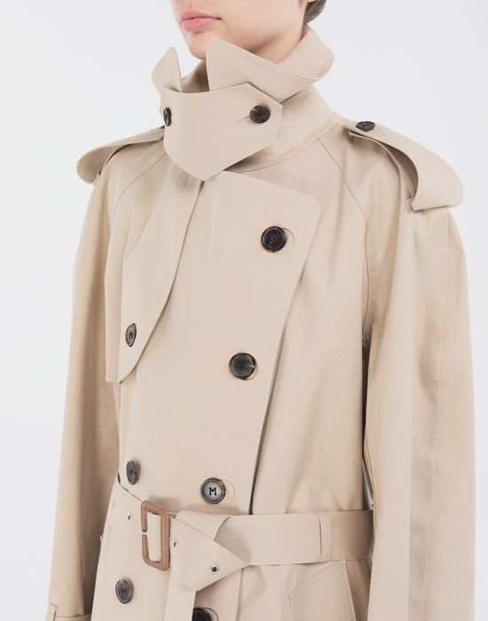 MAISON MARGIELA Beige Long Trench Crafted By Mackintosh Raincoat [*** pickupInStoreShipping_info ***] a