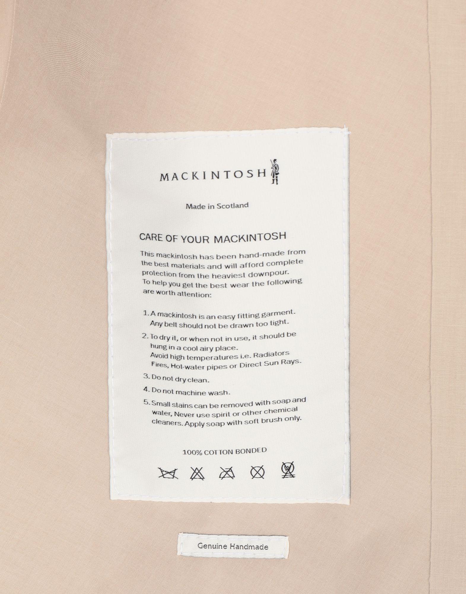 MAISON MARGIELA Beige Long Trench Crafted By Mackintosh Raincoat Woman b