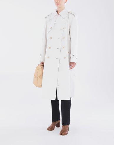 COATS & JACKETS White Long Trench Crafted By Mackintosh White