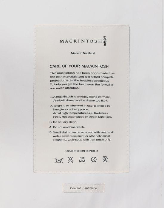 MAISON MARGIELA White Long Trench Crafted By Mackintosh Raincoat [*** pickupInStoreShipping_info ***] b
