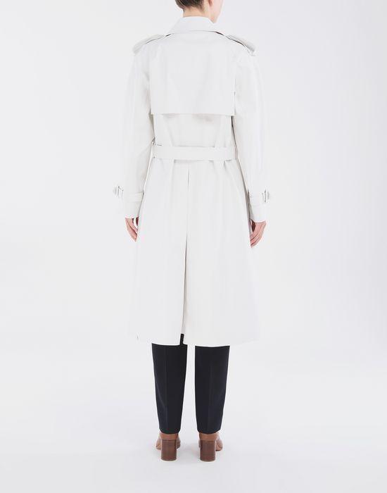 MAISON MARGIELA White Long Trench Crafted By Mackintosh Raincoat [*** pickupInStoreShipping_info ***] e