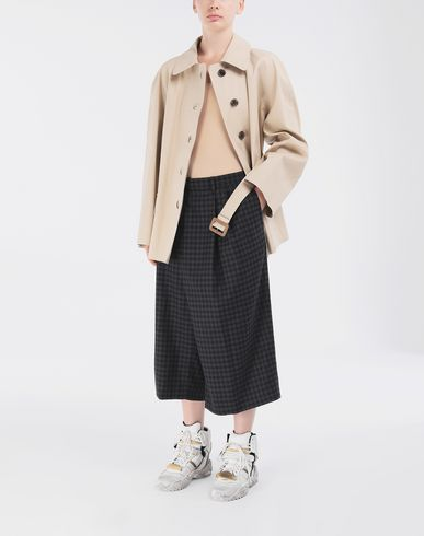 COATS & JACKETS Short Beige Trench Crafted By Mackintosh