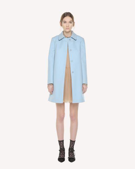 REDValentino Coat Woman QR3CA1Q50NA DI8 f