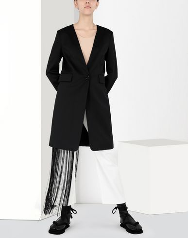 MM6 MAISON MARGIELA Long suiting wool jacket Veste Femme f