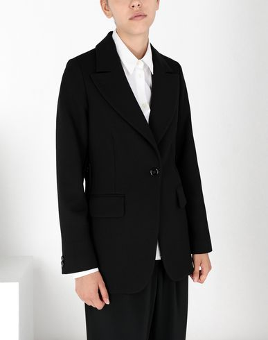 MM6 MAISON MARGIELA Blazer Woman Wool tailored jacket with tabs f