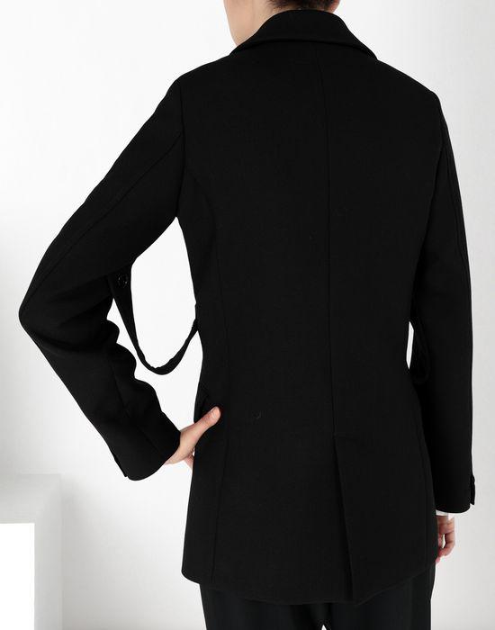 MM6 MAISON MARGIELA Wool tailored jacket with tabs Blazer [*** pickupInStoreShipping_info ***] d