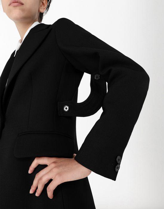 MM6 MAISON MARGIELA Wool tailored jacket with tabs Blazer [*** pickupInStoreShipping_info ***] e