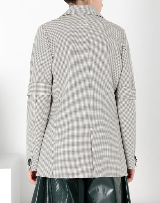 MM6 MAISON MARGIELA Jersey tailored jacket with tabs Blazer [*** pickupInStoreShipping_info ***] d