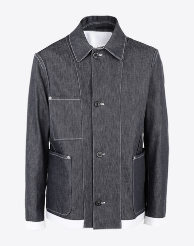 MAISON MARGIELA Blazer Man Double denim jacket f