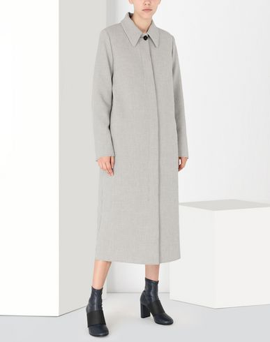 MM6 MAISON MARGIELA Coat [*** pickupInStoreShipping_info ***] Long jersey coat f