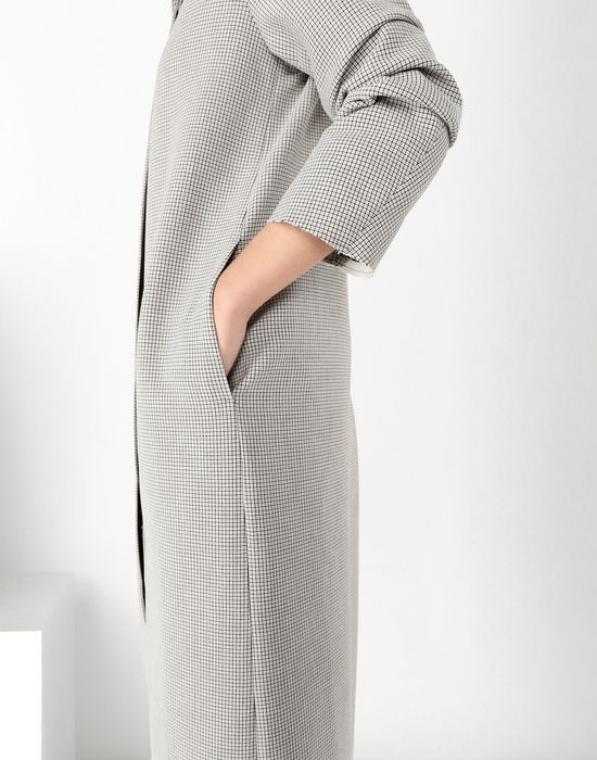 MM6 MAISON MARGIELA Long jersey coat Coat [*** pickupInStoreShipping_info ***] a
