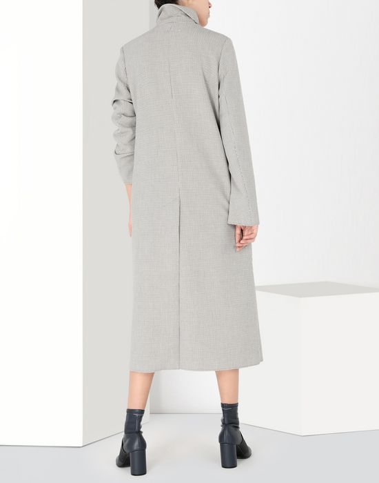 MM6 MAISON MARGIELA Long jersey coat Coat [*** pickupInStoreShipping_info ***] d