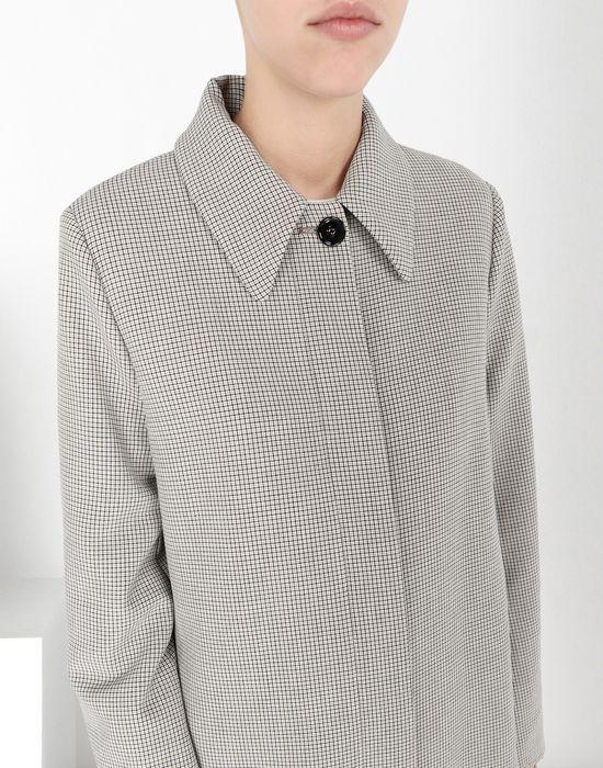 MM6 MAISON MARGIELA Long jersey coat Coat [*** pickupInStoreShipping_info ***] e