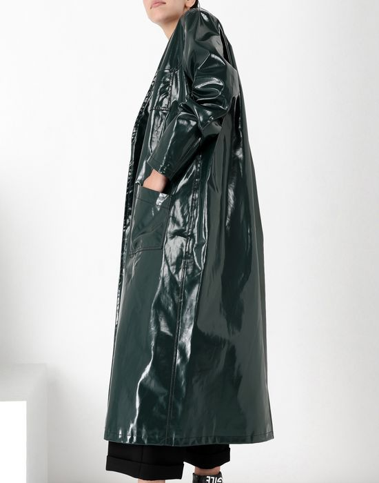 MM6 MAISON MARGIELA Laminated 'Blouse Blanche' Coat [*** pickupInStoreShipping_info ***] a