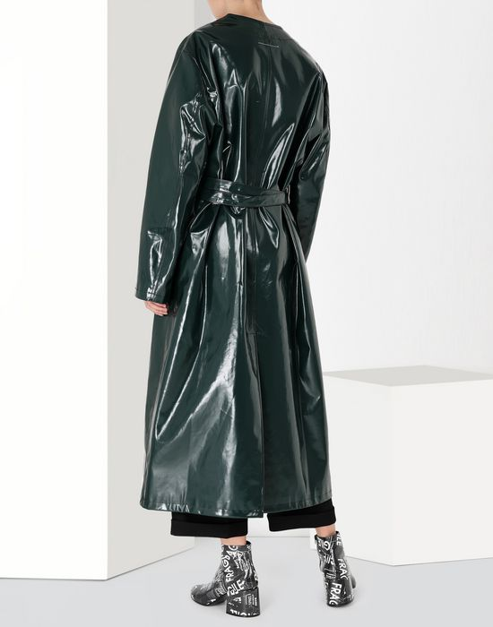 MM6 MAISON MARGIELA Laminated 'Blouse Blanche' Coat [*** pickupInStoreShipping_info ***] d