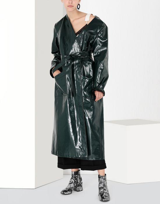 MM6 MAISON MARGIELA Laminated 'Blouse Blanche' Coat [*** pickupInStoreShipping_info ***] r