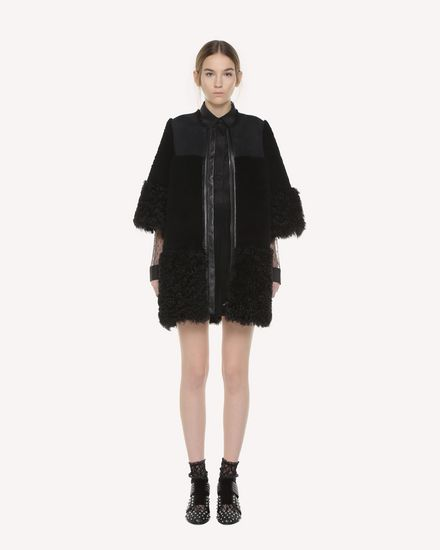 REDValentino Jacket Woman QR3NB00R3VA 0NO f